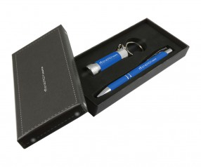 Goldstar Crosby & McQueen DLX Soft Touch Geschenk Set Pantone 2146 Blau
