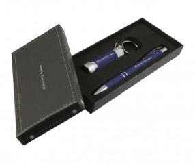 Goldstar Crosby & McQueen DLX Soft Touch Geschenk Set Pantone 289 Dunkelblau
