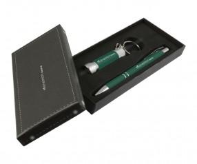 Goldstar Crosby & McQueen DLX Soft Touch Geschenk Set Pantone 7729 Dunkelgrün
