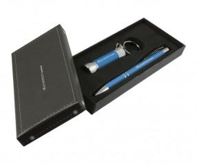 Goldstar Crosby & McQueen DLX Soft Touch Geschenk Set Pantone 7690 Hellblau