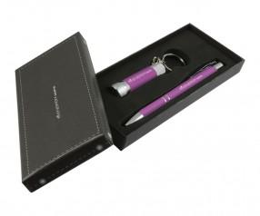 Goldstar Crosby & McQueen DLX Soft Touch Geschenk Set Pantone 674 Rosa