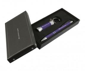 Goldstar Crosby & McQueen DLX Soft Touch Geschenk Set Pantone 267 Violett