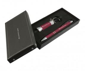 Goldstar Crosby & McQueen DLX Soft Touch Geschenk Set Pantone 188 Rot