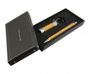 Goldstar Crosby & McQueen DLX Soft Touch Geschenk Set Pantone 123 Gelb