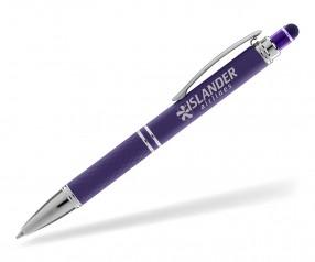 Goldstar Phoenix Soft Touch MNH Kugelschreiber violett (PMS 2607)