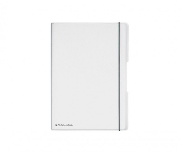 Herlitz Notizheft my book flex PP A5 farblos