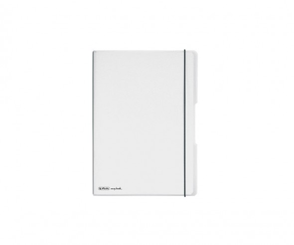 Herlitz Notizheft my book flex PP A6 farblos