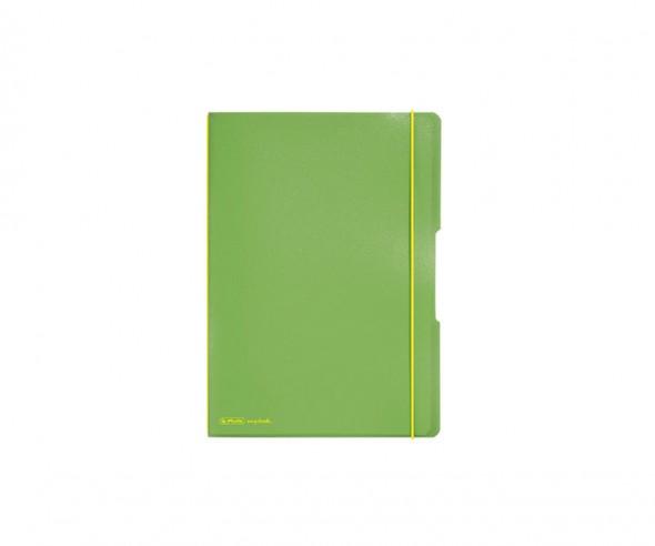 Herlitz Notizheft my book flex PP A6 grün