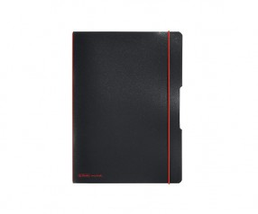 Herlitz Notizheft my book flex PP A5 schwarz