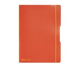 Herlitz Notizheft my book flex PP A4 orange