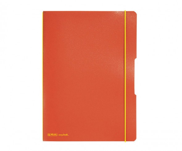 Herlitz Notizheft my book flex PP A4 orange