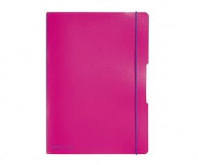 Herlitz Notizheft my book flex PP A4 rosa