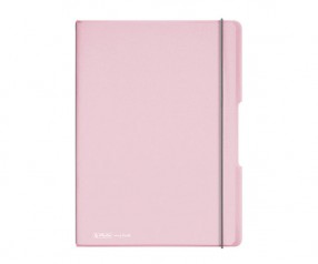 Herlitz Notizheft my book flex PP A4 rose