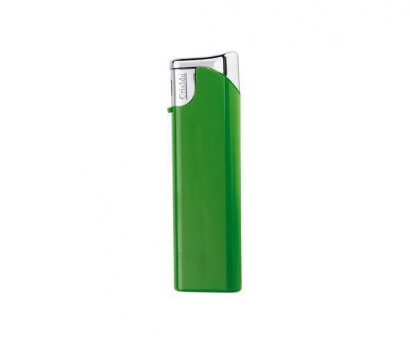 CrisMa Elektronik-Feuerzeug nachfüllbar, grün