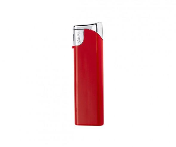 CrisMa Elektronik-Feuerzeug nachfüllbar, rot