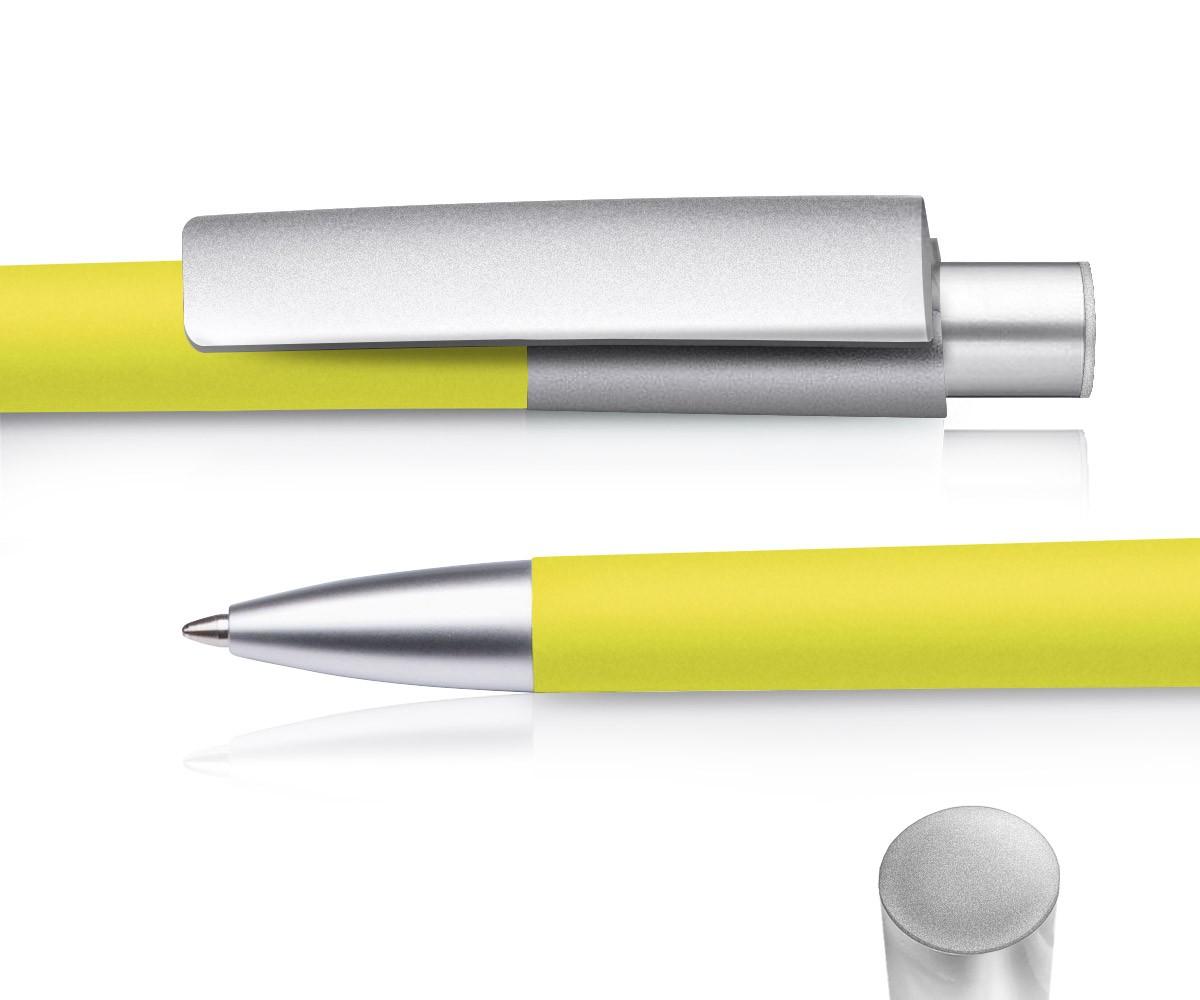 Kugelschreiber Delta Freestyle 810 Marl Applikation Silber Dein Pen