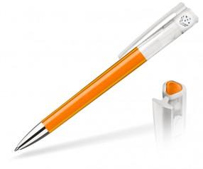 Elan Magic 1007 Hessen Kugelschreiber orange mit Raum für Füllung