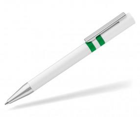 UMA RINGO Kugelschreiber 0-0045 weiss hellgruen