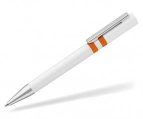 UMA RINGO Kugelschreiber 0-0045 weiss orange