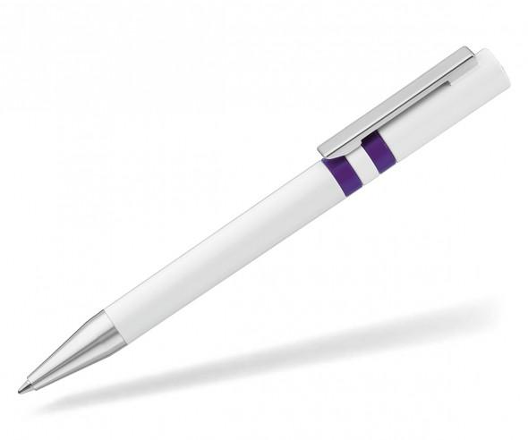 UMA RINGO Kugelschreiber 0-0045 weiss violett