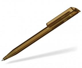 UMA Kugelschreiber POP transparent 0-0071 braun