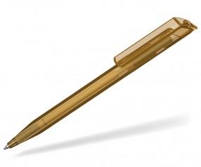 UMA Kugelschreiber POP transparent 0-0071 karamell