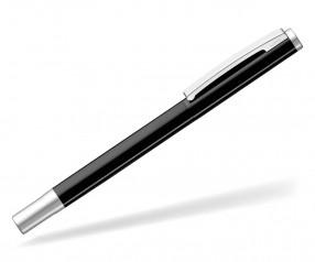UMA Tintenroller SLIDE R schwarz mit Beschriftung