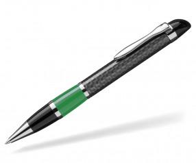 UMA Kugelschreiber NOBILIS 0-8900 Carbon dunkelgrün