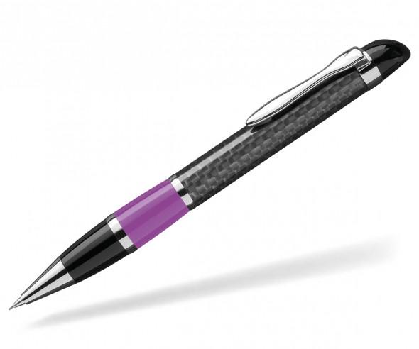 UMA Kugelschreiber NOBILIS 0-8900 Carbon dunkelviolett