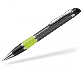 UMA Kugelschreiber NOBILIS 0-8900 Carbon hellgrün