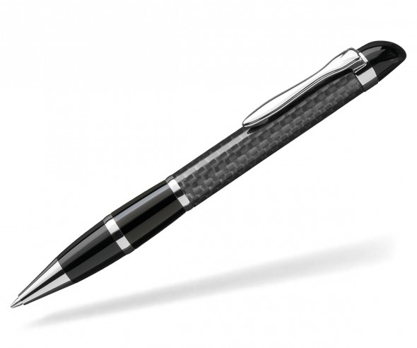 UMA Kugelschreiber NOBILIS 0-8900 Carbon schwarz