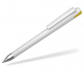 UMA Kugelschreiber CRYSTAL 10147 SI dunkelgelb