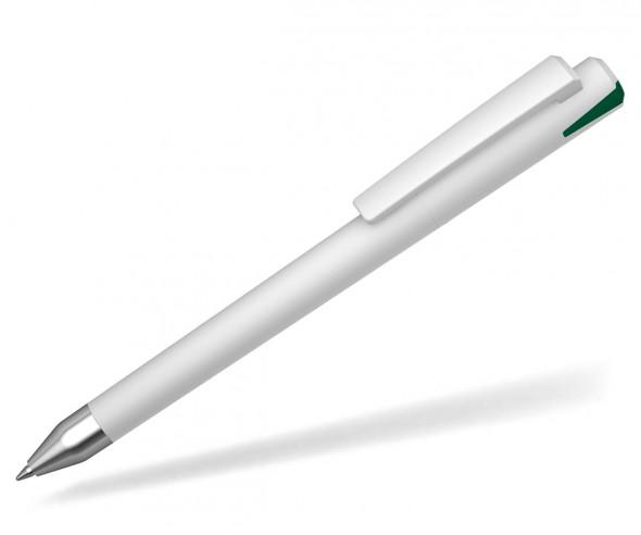 UMA Kugelschreiber CRYSTAL 10147 SI dunkelgrün