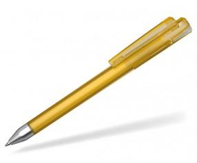 UMA Kugelschreiber CRYSTAL 10147 T-SI gelb