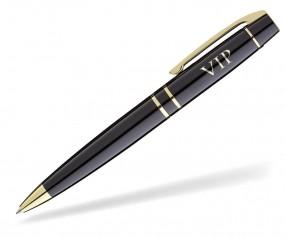 UMA Kugelschreiber Werbegeschenk VIP 0-9100 BLACK GOLD
