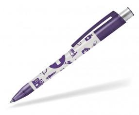 Werbekuli für Arzt Praxis und Krankenhäuser, Delta Classic 803 violett
