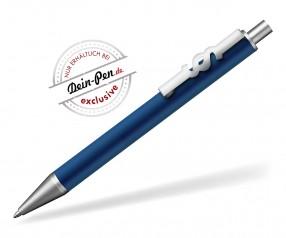 JUSTICE Kugelschreiber für Steuerberater mit Paragraph-Clip blau