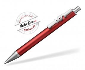 JUSTICE Kugelschreiber für Notar mit Paragraf-Zeichen rot metallic