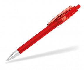 Klio Kugelschreiber KLIX transparent Mn 42606 HTR1 rot
