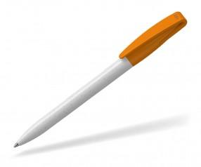 Klio COBRA RECYCLING Kugelschreiber 41015 U TL weiss hellorange