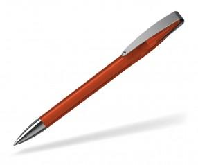 Klio COBRA transparent MMn 41035 Kugelschreiber HTR orangerot