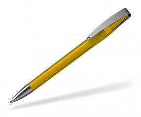 Klio COBRA transparent MMn 41035 Kugelschreiber STR sonnengelb
