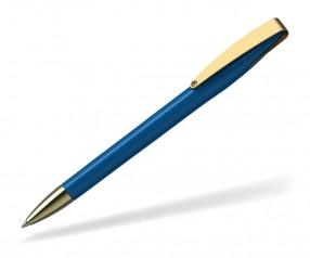 Klio COBRA high gloss MMg 41038 Kugelschreiber goldfarben M mittelblau