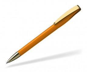 Klio COBRA high gloss MMg 41038 Kugelschreiber goldfarben TL hellorange