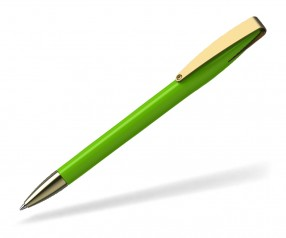 Klio COBRA high gloss MMg 41038 Kugelschreiber goldfarben TZ hellgrün