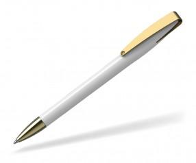 Klio COBRA high gloss MMg 41038 Kugelschreiber goldfarben U weiss