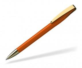 Klio COBRA high gloss MMg 41038 Kugelschreiber goldfarben W dunkelorange