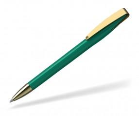Klio COBRA high gloss MMg 41038 Kugelschreiber goldfarben Z mittelgrün
