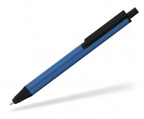 Klio eterna Flute stylus metal Kugelschreiber Touchpen blau