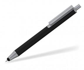 Klio eterna Flute stylus Kugelschreiber Touchpen Softtouch schwarz
